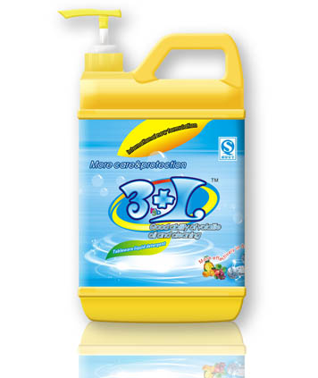 Liquid detergent(Large pump bottle package)